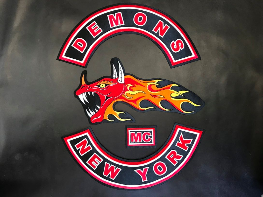 Biker Patches - Demons MC, New York